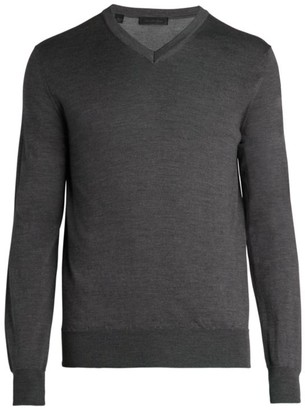 Saks Fifth Avenue COLLECTION Charlotte Yarn V-Neck Sweater