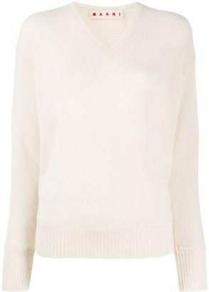 Marni V-neck knit jumper