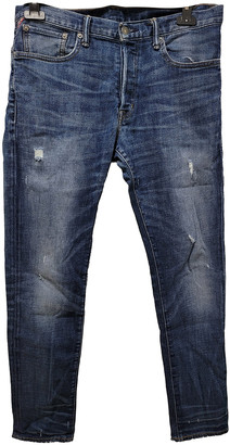 Denim & Supply Ralph Lauren Blue Cotton - elasthane Jeans