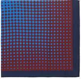 Barneys New York Men's Geometric-Print Silk Pocket Square