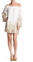 Endless Rose Embroidered Off-the-Shoulder Dress