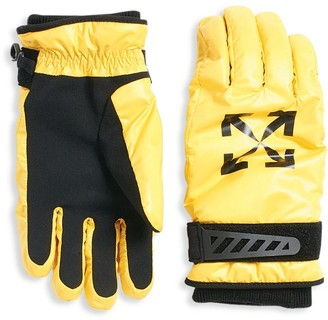 Off-White 2-Piece Ski Gloves