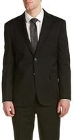 Saint Laurent Wool Suit With Flat Front Pant.