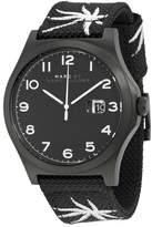 Marc by Marc Jacobs Jimmy Black Dial Black Nylon Men's Watch MBM5088