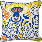 One Duck Two Carnival Outdoor Cushion, Lemon