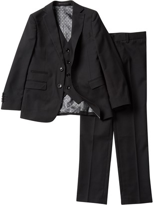 Isaac Mizrahi 3-Piece Suit - Husky Sizes Available (Toddler & Little Boys)