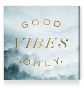 Oliver Gal Good Vibes Only Canvas Wall Art