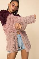 MinkPink Lost Weekend Faux Fur Coat