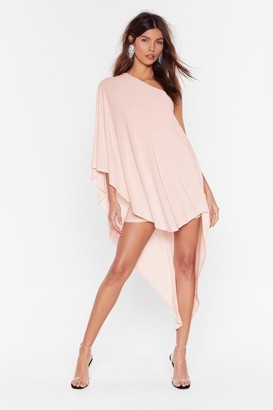 Nasty Gal Womens Superwoman Double Layer Dress - Pink - 4