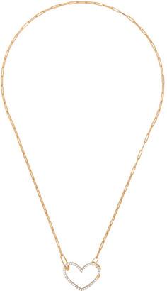 Yvonne Léon Gold Coeur Diamond Necklace