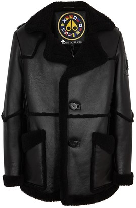 Moose Knuckles Raddisson Black Shearling Jacket