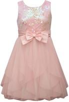 Bonnie Jean Girls 7-16 Sequin & Mesh Dress