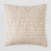 "Bloomingdale's Oake Textured Lines Decorative Pillow, 18"" x 18"""