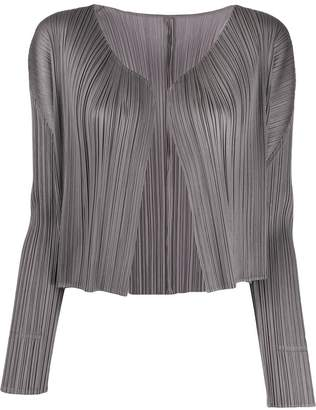 Pleats Please Issey Miyake loose-fit pleated jacket