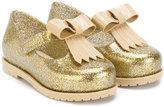 Mini Melissa bow detail ballerinas - kids - PVC/rubber - 26