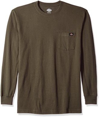 Dickies Men's Long Sleeve Heavyweight Crew Neck Big-Tall