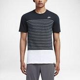 Nike Clash Heather Stripe Men's T-Shirt