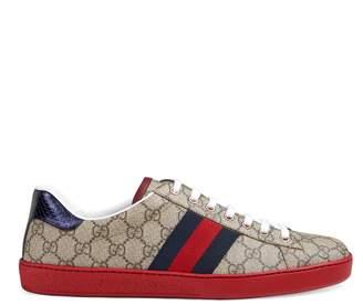 Gucci Men's Ace GG Supreme sneaker