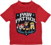 "Paw Patrol Little Boys' Toddler ""Helpful Pups"" Rash Guard"