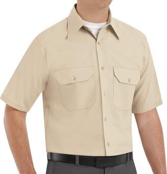 Red Kap Men's Solid Dress Uniform Shirt