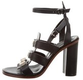 Proenza Schouler Leather Studded Sandals