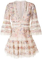 Zimmermann floral mini dress