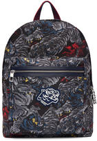 Kenzo Grey Flying Tiger Backpack