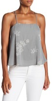 Ppla Azure Embroidered Camisole