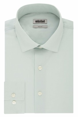 Kenneth Cole New York Kenneth Cole Unlisted Men's Dress Shirt Slim Fit Solid