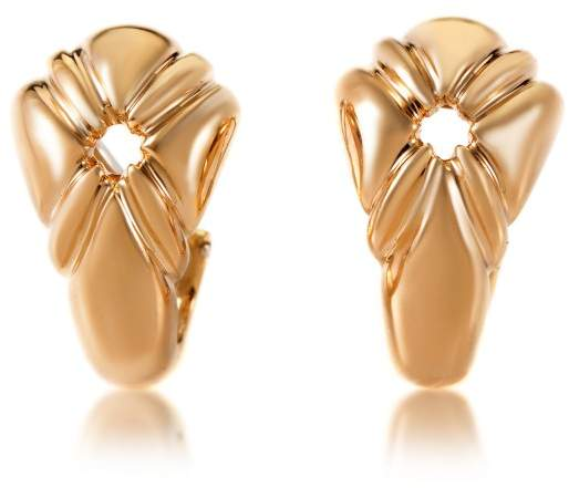 Chaumet 18K Yellow Gold Clip-on Earrings
