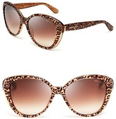 Jimmy Choo Titas Panther Cat Eye Sunglasses