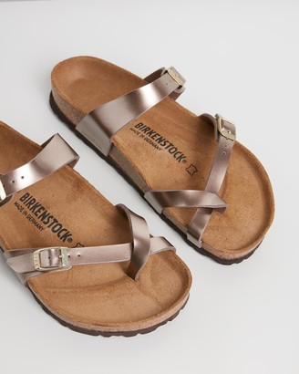 Birkenstock Womens Mayari Birko-Flor Electric Regular Sandals