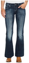 Rock and Roll Cowgirl Trousers Bootcut in Dark Vintage W8-2340 Women's Jeans