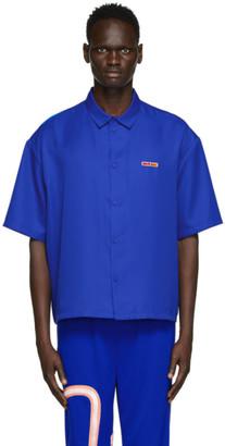Reebok by Pyer Moss Blue G Short Sleeve Shirt