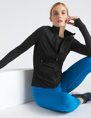 Marks and Spencer Zipped Through Run Top