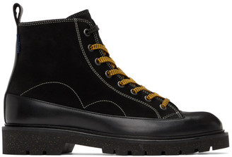 Paul Smith Black Suede Buhl Boots