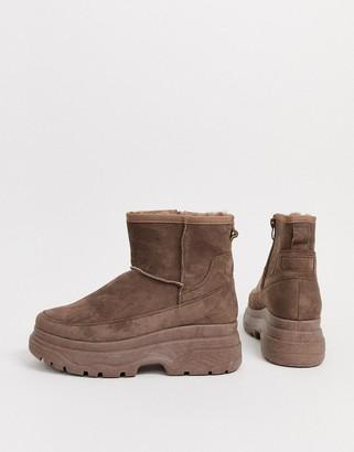 Park Lane faux fur lined ankle boots