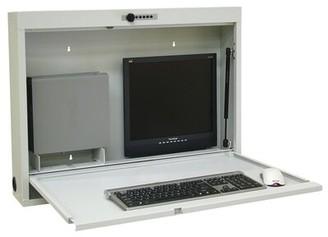 BEIGE Omnimed Informatics Floating Desk Omnimed Color