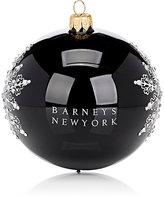 Barneys New York Crystal-Snowflake Glass Ball Ornament