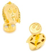"Cufflinks Inc. Men's Cufflinks, Inc. ""star Wars(TM)"" 3D C3Po Cuff Links"