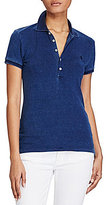 Polo Ralph Lauren Skinny Weathered Stretch Polo Shirt