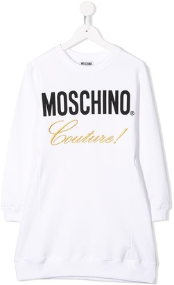 Moschino Kids Couture sweatshirt dress