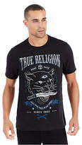 True Religion Ss Caged Panther Tee
