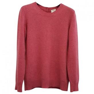 Chanel Pink Cashmere Knitwear