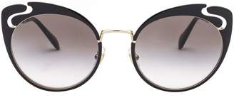 Miu Miu Cat Eye Frame Sunglasses