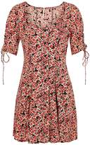 Free People Floral-print Woven Mini Dress
