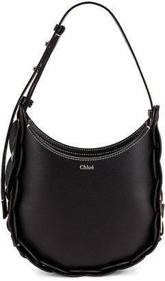 Chloé Small Darryl Leather Bag in Black | FWRD