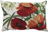 B. Smith The Vintage House by Park Poppies Tapestry Oblong Throw Pillow