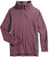 Retrofit Men's Geo Quilted Funnel-Neck Sweatshirt