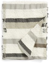 Nordstrom 'Collector' Stripe Mixed Media Throw Blanket